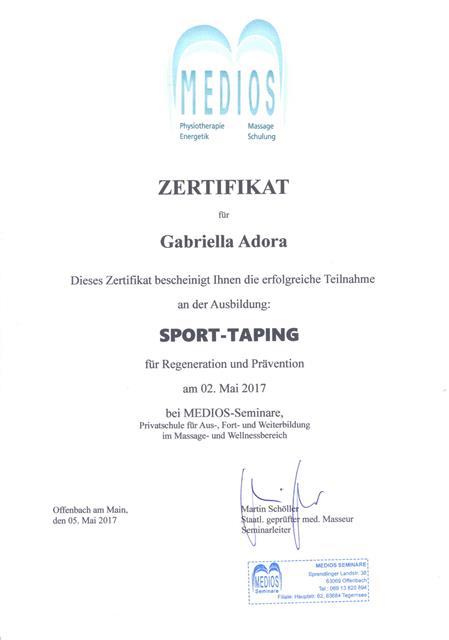 Sport Taping